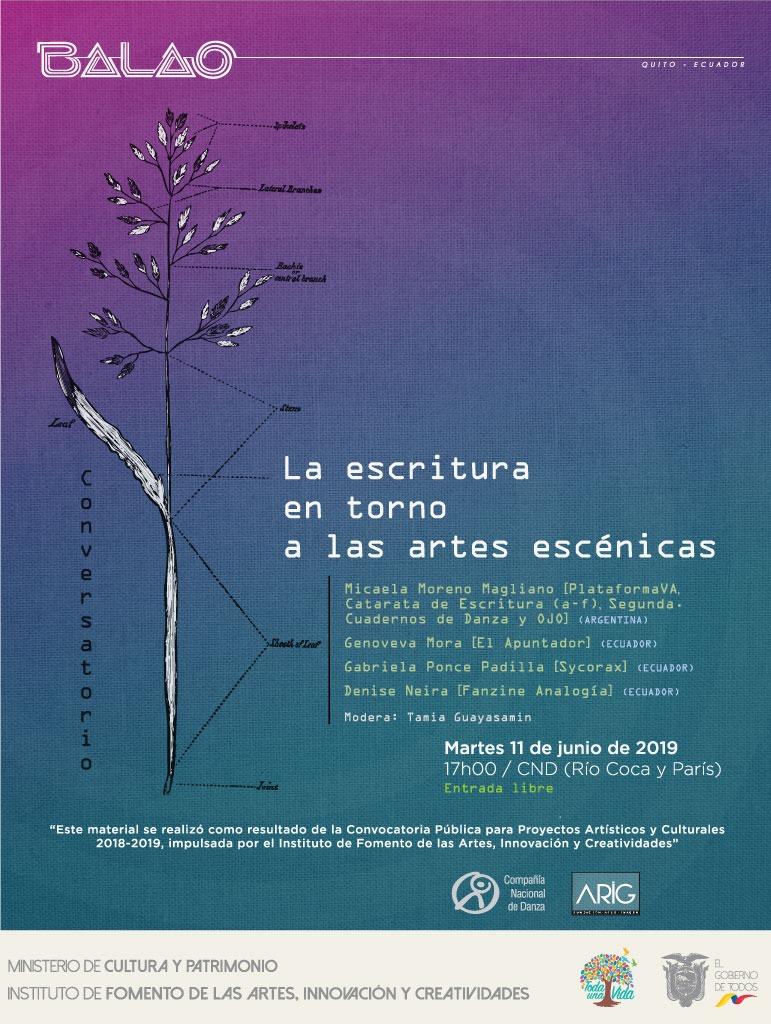 Conversatorio afiche redes new